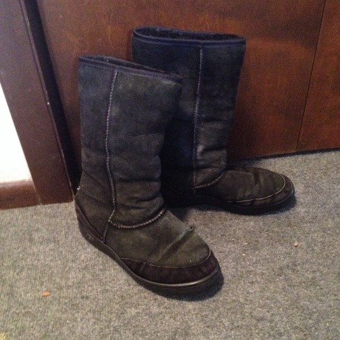 uggs boots made out of